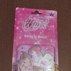 Jeux de cartes: BARAJA WINX - JUEGO DE CARTAS INFANTIL - FOURNIER - A ESTRENAR - EN CAJA METALICA. Lote 215019153