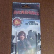 Mazzi di carte: BARAJA DRAGONES DRAGONS - JUEGO DE CARTAS INFANTIL - FOURNIER - A ESTRENAR. Lote 227800120