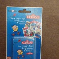 Mazzi di carte: BARAJA CAILLOU (MOD B) - JUEGO DE CARTAS INFANTIL - A ESTRENAR. Lote 215033875
