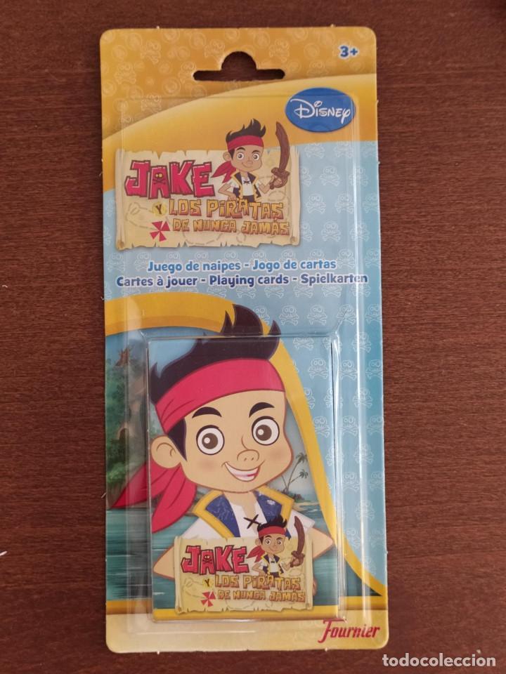 BARAJA JAKE Y LOS PIRATAS DE NUNCA JAMAS - JUEGO DE CARTAS INFANTIL - FOURNIER - A ESTRENAR (Juguetes y Juegos - Cartas y Naipes - Barajas Infantiles)