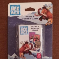 Mazzi di carte: BARAJA ICE AGE - JUEGO DE CARTAS INFANTIL - BARAJA A ESTRENAR BLISTER DESPEGADO. Lote 215056170