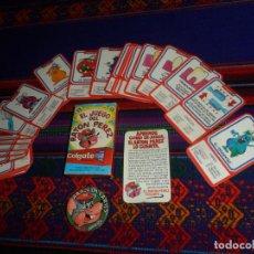 Jeux de cartes: COLGATE BARAJA EL JUEGO DEL RATÓN PÉREZ 24 CARTAS, INSTRUCCIONES Y ESTUCHE. 7X4 CMS. REGALO CHAPA.. Lote 215093123