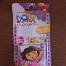 Jeux de cartes: BARAJA DORA LA EXPLORADORA MODELO B - JUEGO DE CARTAS INFANTIL - A ESTRENAR - FOURNIER. Lote 215056183