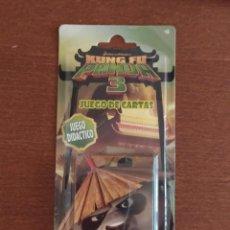 Jeux de cartes: BARAJA KUNG FU PANDA 3 - JUEGO DE CARTAS INFANTIL - FOURNIER - A ESTRENAR. Lote 215122497