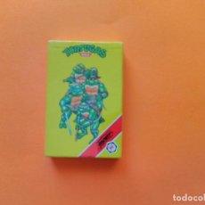Barajas de cartas: BARAJA TORTUGAS NINJA DE FOURNIER AÑO 1991- NUEVA PRECINTADA!!! - ERICTOYS. Lote 215167802