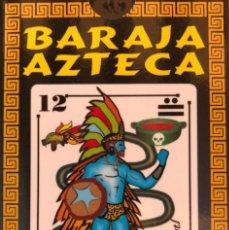 Barajas de cartas: MEX 81 PRECIOSA BARAJA AZTECA NAIPE. TIPO ESPAÑOL DE FANTASÍA. MÉXICO.. Lote 258093215