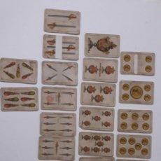 Barajas de cartas: ANTIGUA BARAJA DE NAIPES INSTRAMPARENTES.. Lote 215627560