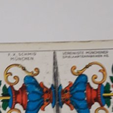 Barajas de cartas: BARAJA DE CARTAS ALEMANAS TIPO POKER.. Lote 215627755