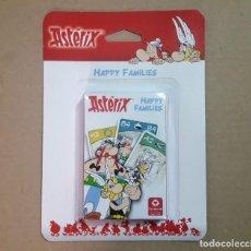 "Jeux de cartes: BARAJA DE CARTAS ASTÉRIX ""HAPPY FAMILIES"". Lote 215665612"