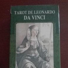 Barajas de cartas: BARAJA DE TAROT DE LEONARDO DA VINCI. Lote 215741743