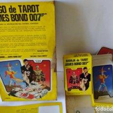 Barajas de cartas: JUEGO DEL TAROT, JAMES BOND 007, AÑO 1973. COMPLETO.. Lote 215748330