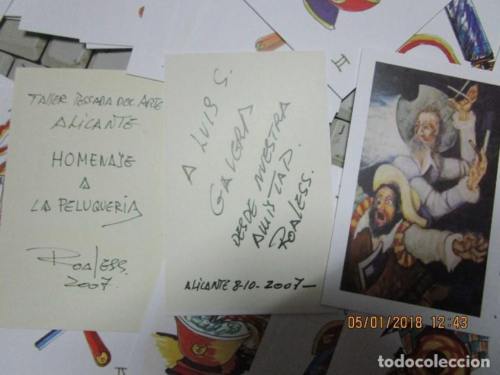 Barajas de cartas: baraja española homenaje a la peluqueria de arte alicante sobre el quijote dificil - Foto 3 - 229235790