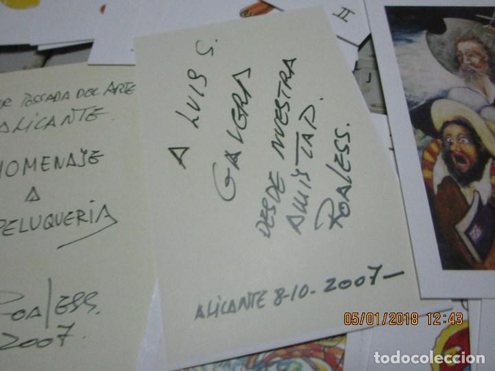 Barajas de cartas: baraja española homenaje a la peluqueria de arte alicante sobre el quijote dificil - Foto 4 - 229235790