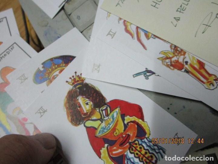 Barajas de cartas: baraja española homenaje a la peluqueria de arte alicante sobre el quijote dificil - Foto 6 - 229235790