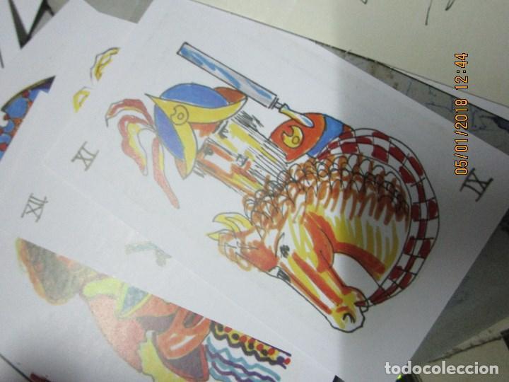 Barajas de cartas: baraja española homenaje a la peluqueria de arte alicante sobre el quijote dificil - Foto 7 - 229235790
