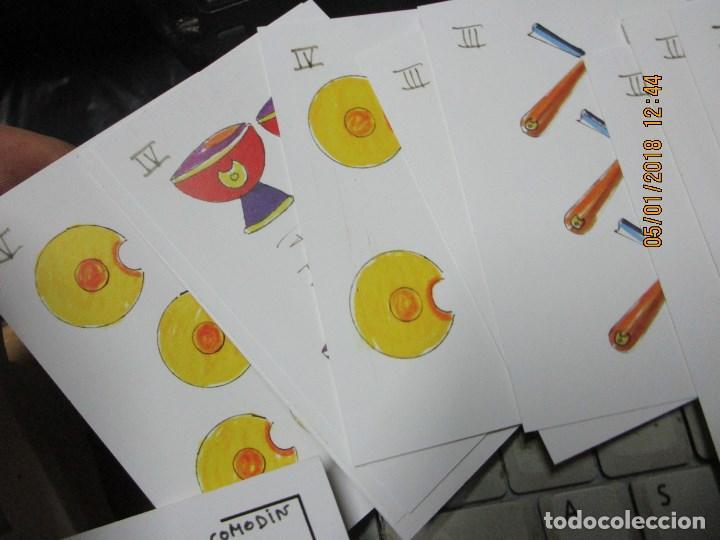 Barajas de cartas: baraja española homenaje a la peluqueria de arte alicante sobre el quijote dificil - Foto 9 - 229235790