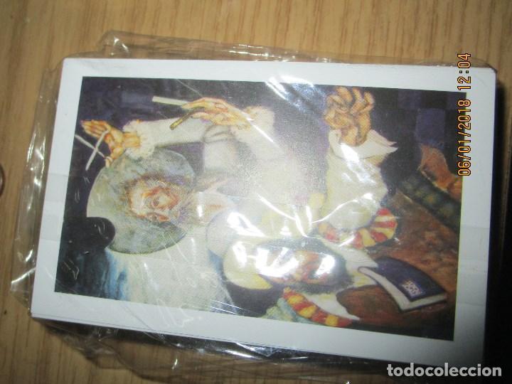 Barajas de cartas: baraja española homenaje a la peluqueria de arte alicante sobre el quijote dificil - Foto 14 - 229235790