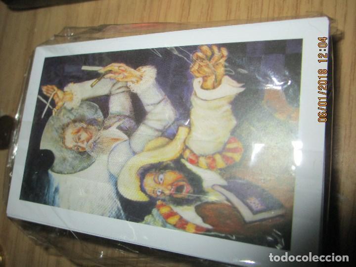 Barajas de cartas: baraja española homenaje a la peluqueria de arte alicante sobre el quijote dificil - Foto 15 - 229235790