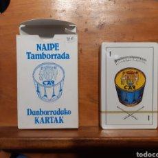 Mazzi di carte: ANTIGUA BARAJA DE LA TAMBORRADA DE SAN SEBASTIÁN DE 1981 NUEVA. Lote 215928406