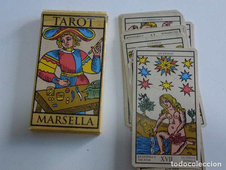 CARTAS TAROT MARSELLA 22 ARCANOS MAYORES LO SCARABEO AÑO 2000. (Juguetes y Juegos - Cartas y Naipes - Barajas Tarot)