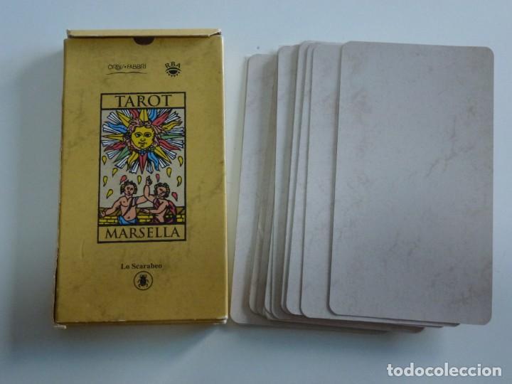 Barajas de cartas: Cartas Tarot Marsella 22 Arcanos Mayores Lo Scarabeo Año 2000. - Foto 2 - 215941355
