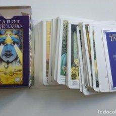 Barajas de cartas: BARAJA CARTAS TAROT DEL INICIADO LE SCARABEO AÑO 2000. Lote 215943780