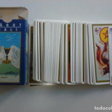 Barajas de cartas: BARAJA CARTAS TAROT DALI LE SCARABEO AÑO 2000. Lote 215945643