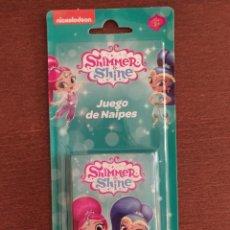 Jeux de cartes: BARAJA SHIMMER Y SHINE - JUEGO DE CARTAS INFANTIL - FOURNIER - A ESTRENAR. Lote 216374108