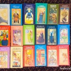 Jeux de cartes: LOTE 18: EL ARTE DEL TAROT - ORBIS FABBRI NUEVOS COMPLETOS. Lote 216394023