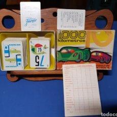 Mazzi di carte: ANTIGUO JUEGO DE FOURNIER 1000 KILÓMETROS LA CANASTA DE LA CARRETERA 1964. Lote 216456226