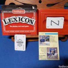 Mazzi di carte: ANTIGUO JUEGO DE CARTAS INFANTIL LEXICON. Lote 216457882