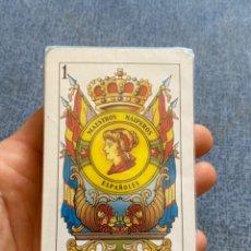 Barajas de cartas: BARAJA ESPAÑOLA PRECINTADA JUEGO 50 CARTAS MAESTROS NAIPEROS ESPAÑOLES MODELO 003 NUEVA. Lote 216532806