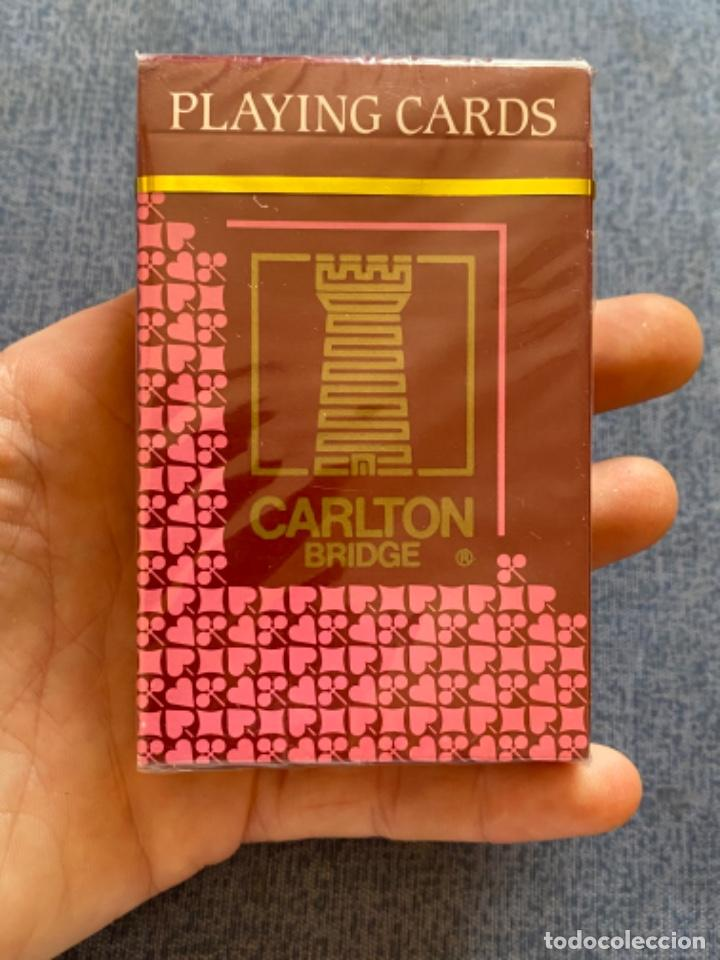BARAJA DE CARTAS PLAYING CARDS PRECINTADA CARTA MUNDI BELGICA BRIDGE POKER NAIPES CARLTON BRIDGE (Juguetes y Juegos - Cartas y Naipes - Barajas de Póker)