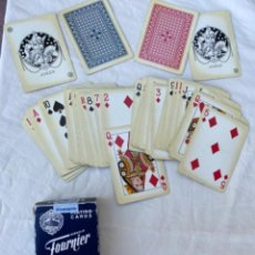 Barajas de cartas: CARTAS PLAYING CARDS ANTIGUA BARAJA DE POKER HERACLIO FOURNIER Nº 18 - COMPLETA CON 55 N. Lote 216533325