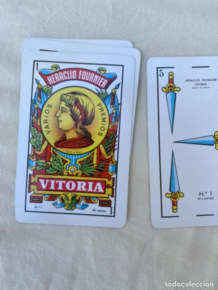 Barajas de cartas: cartas playing cards ANTIGUA BARAJA PUblicidad codere naipes fibra marfil HERACLIO FOURNIER - Foto 3 - 216534453