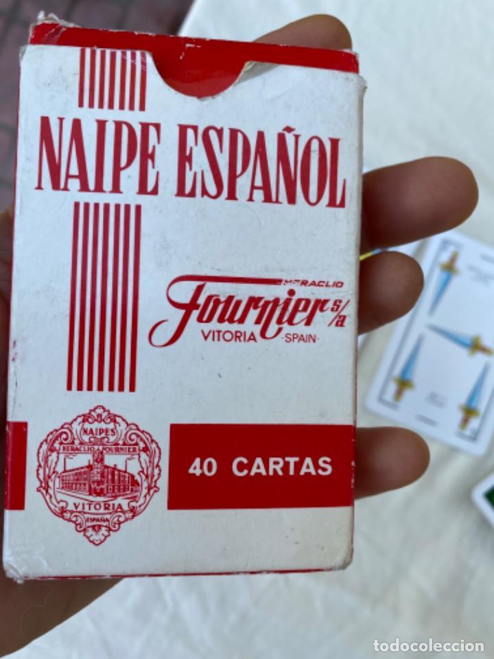 Barajas de cartas: cartas playing cards ANTIGUA BARAJA PUblicidad codere naipes fibra marfil HERACLIO FOURNIER - Foto 6 - 216534453