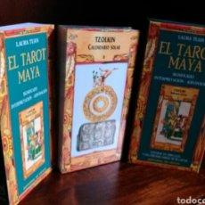 Jeux de cartes: TAROT MAYA. EDITORIAL DE VECCHI. LAURA TUAN. NUEVO. PRECINTADO. Lote 216559346