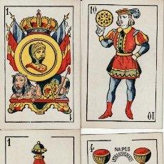 Barajas de cartas: BARAJA ESPAÑOLA DE WENCESLAO GUARRO. Lote 216816541