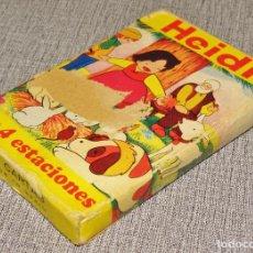 Jeux de cartes: BARAJA CARTAS HEIDI LAS 4 ESTACIONES,FOURNIER COMPLETA. Lote 216914380