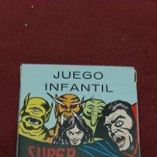 Jeux de cartes: BARAJA SUPERMONSTRUOS.. HORROR A GOGO. NAIPES MILANO 1988. 33 CARTAS HERACLIO FOURNIER. Lote 216951877