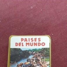 Mazzi di carte: BARAJA MINI DE HERACLIO FOURNIER 1978... PAISES DEL MUNDO. Lote 216952016