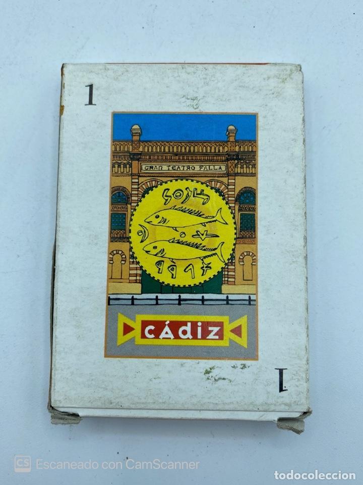 Barajas de cartas: LOTE DE 32 BARAJAS DE CARTAS. CARNAVAL DE CADIZ. FOURNIER. JUEGO DE LA GUERRA...VER TODAS LAS FOTOS. - Foto 10 - 217101570