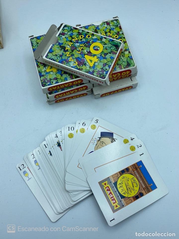 Barajas de cartas: LOTE DE 32 BARAJAS DE CARTAS. CARNAVAL DE CADIZ. FOURNIER. JUEGO DE LA GUERRA...VER TODAS LAS FOTOS. - Foto 13 - 217101570