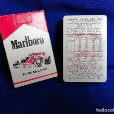 Jeux de cartes: CARTAS MARLBORO TEAM MCLAREN-. Lote 217175508
