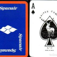 Barajas de cartas: SPANAIR - LÍNEAS AÉREAS - BARAJA DE POKER. Lote 217209025