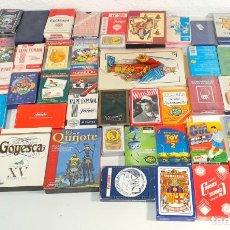 Jeux de cartes: GRAN LOTE +50 BARAJAS DIFERENTES ÉPOCAS / TEMÁTICAS. NAIPES POKER, ESPAÑOLA, MINIATURAS, INFANTILES. Lote 217213035
