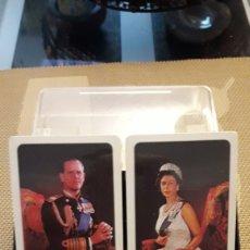 Barajas de cartas: DOBLE BARAJA DE BRIDGE JUBILEO DE PLATA 1977 REINA UK. PRECINTADAS .DANI. Lote 217475090