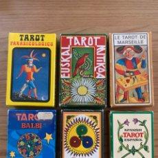 Barajas de cartas: COLECCIÓN DE TAROTS Y BARAJAS. Lote 217517238