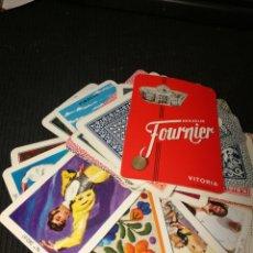 Baralhos de cartas: CATALOGO DE NAIPES O CARTAS DE FOURNIER.. Lote 217647866