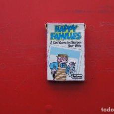 "Mazzi di carte: JUEGO INFANTIL DE CARTAS O NAIPES ""FALCON"" HAPPY FAMILIAS. Lote 217695800"
